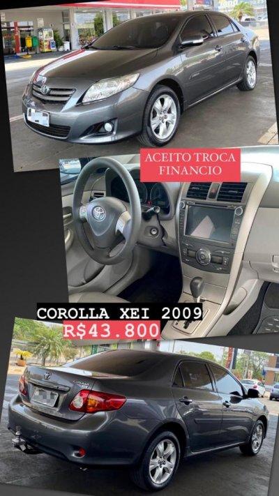Veículo COROLLA 2009 1.8 XEI 16V FLEX 4P AUTOMÁTICO