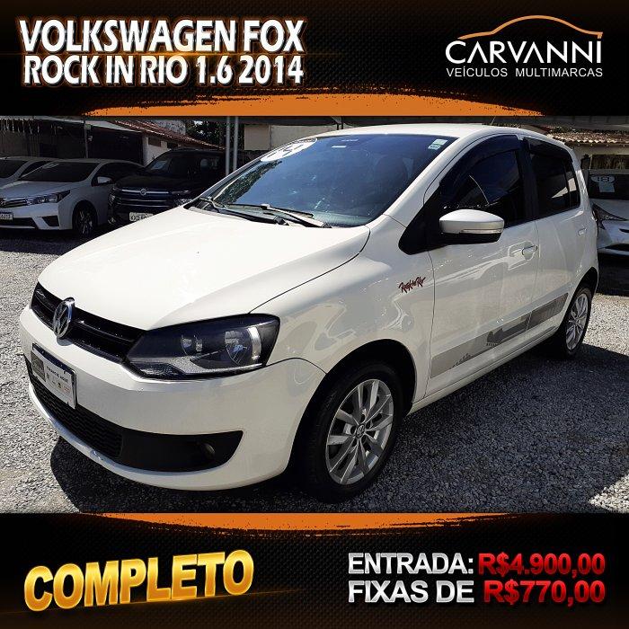Veículo FOX 2014 1.6 MI ROCK IN RIO 8V FLEX 4P MANUAL