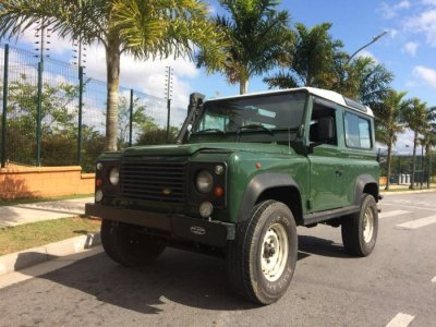 Veículo DEFENDER 1998 2.5 90 CSW 4X4 TURBO INTERCOOLER DIESEL 2P MANUAL