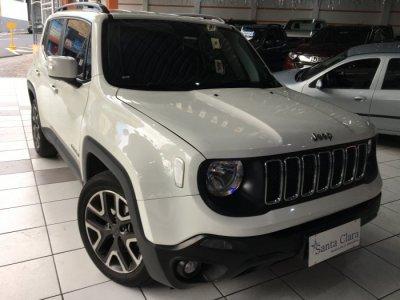 Veículo RENEGADE 2019 1.8 16V FLEX LONGITUDE 4P AUTOMÁTICO