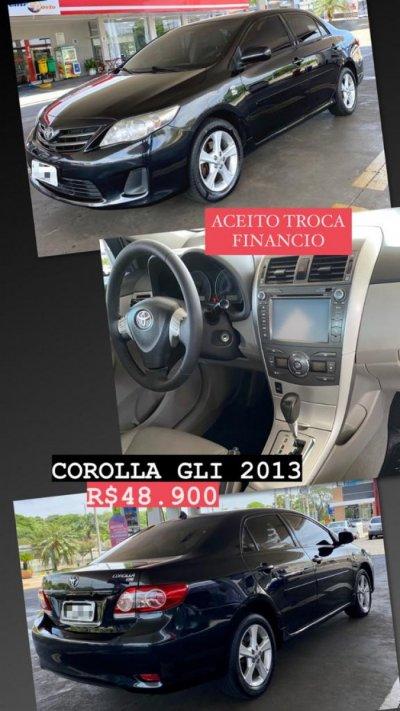 Veículo COROLLA 2013 1.8 GLI 16V FLEX 4P AUTOMÁTICO