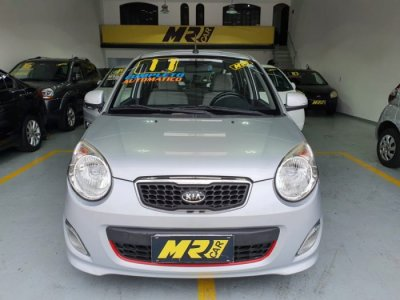Veículo PICANTO 2011 1.0 EX 12V GASOLINA 4P AUTOMÁTICO