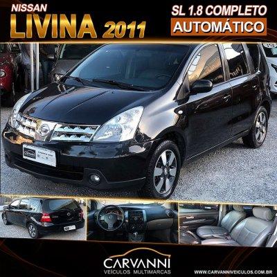 Veículo LIVINA 2011 1.8 SL 16V FLEX 4P AUTOMÁTICO