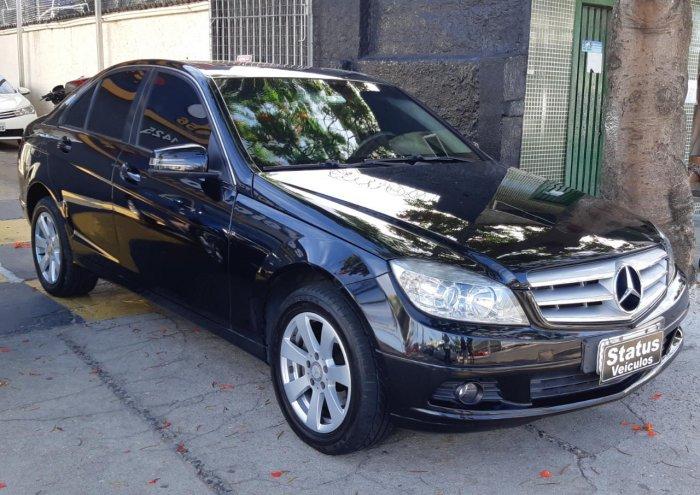 Veículo C 200 K 2010 1.8 KOMPRESSOR CLASSIC 16V GASOLINA 4P AUTOMÁTICO