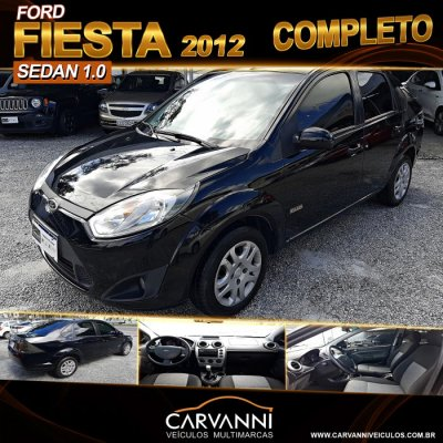 Veículo FIESTA SEDAN 2012 1.6 MPI SEDAN 8V FLEX 4P MANUAL
