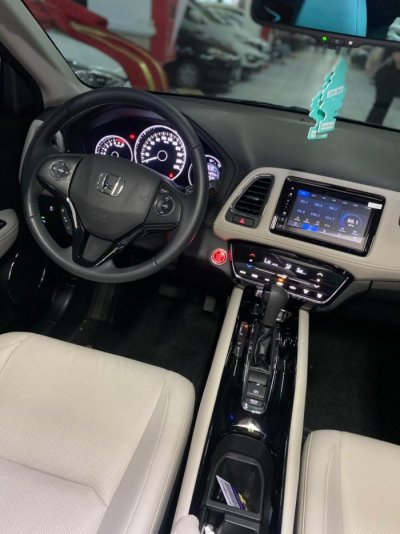 Veículo HR-V 2020 1.5 16V TURBO GASOLINA TOURING 4P AUTOMÁTICO