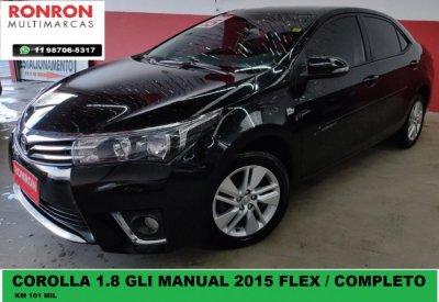 Veículo COROLLA 2015 1.8 GLI 16V FLEX 4P MANUAL