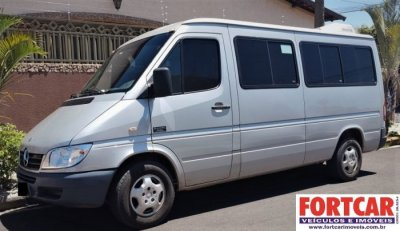 Veículo SPRINTER 2007 2.2 3550 VAN EXECUTIVA 313 CDI DIESEL 3P MANUAL