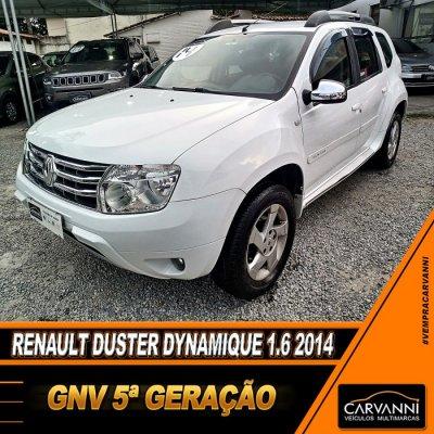 Veículo DUSTER 2014 1.6 DYNAMIQUE 4X2 16V FLEX 4P MANUAL