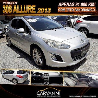 Veículo 308 2013 2.0 ALLURE 16V FLEX 4P MANUAL