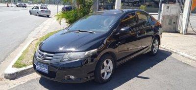 Veículo CITY 2010 1.5 LX 16V FLEX 4P AUTOMÁTICO