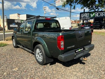 Veículo FRONTIER 2012 2.5 SE ATTACK 4X2 CD TURBO ELETRONIC DIESEL 4P MANUAL