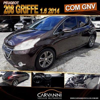Veículo 208 2014 1.6 GRIFFE 16V FLEX 4P MANUAL