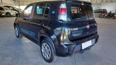 Veículo UNO 2016 1.4 EVO SPORTING SE BLUE EDITION 8V FLEX 4P AUTOMATIZADO