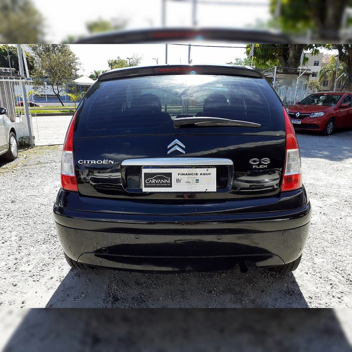 Veículo C3 2011 1.4 I EXCLUSIVE 8V FLEX 4P MANUAL