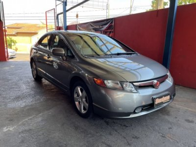 Veículo CIVIC 2007 1.8 LXS 16V FLEX 4P AUTOMÁTICO