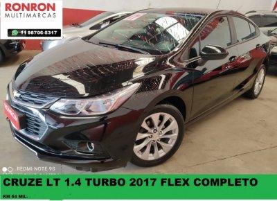 Veículo CRUZE SEDAN 2017 1.4 TURBO LT 16V FLEX 4P AUTOMÁTICO