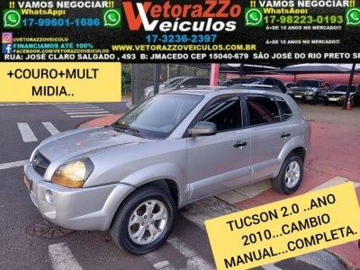 Veículo TUCSON 2010 2.0 MPFI GL 16V 142CV 2WD GASOLINA 4P MANUAL