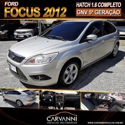 Veículo FOCUS HATCH 2012 1.6 8V GASOLINA 4P MANUAL
