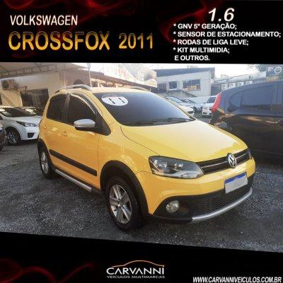 Veículo CROSSFOX 2011 1.6 MI FLEX 8V 4P MANUAL