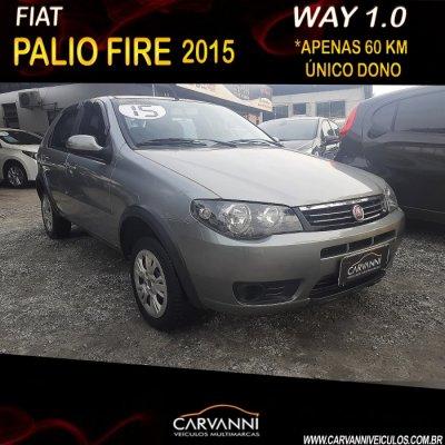 Veículo PALIO 2015 1.0 MPI FIRE WAY 8V FLEX 4P MANUAL