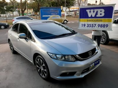 Veículo CIVIC 2016 2.0 LXR 16V FLEX 4P AUTOMÁTICO