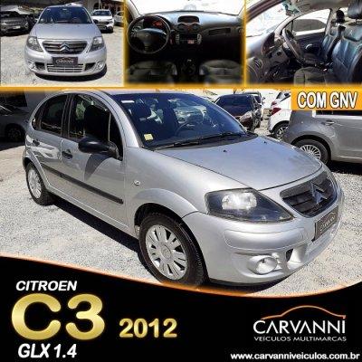 Veículo C3 2012 1.4 I GLX 8V FLEX 4P MANUAL