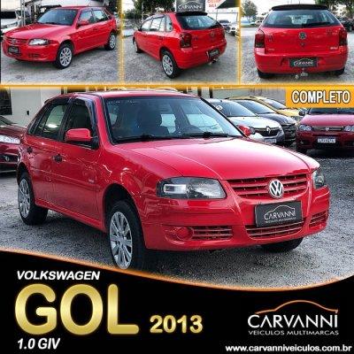 Veículo GOL 2013 1.0 MI ECOMOTION 8V FLEX 4P MANUAL G.IV
