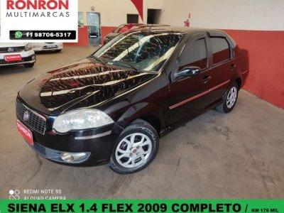 Veículo SIENA 2009 1.4 MPI ELX ATTRACTIVE 8V FLEX 4P MANUAL