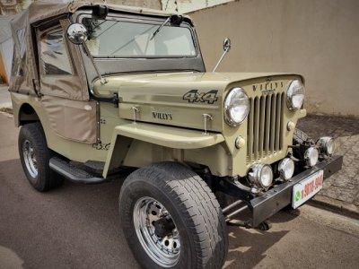 Veículo JEEP 1954 2.3 CJ3B 8V GASOLINA 2P MANUAL