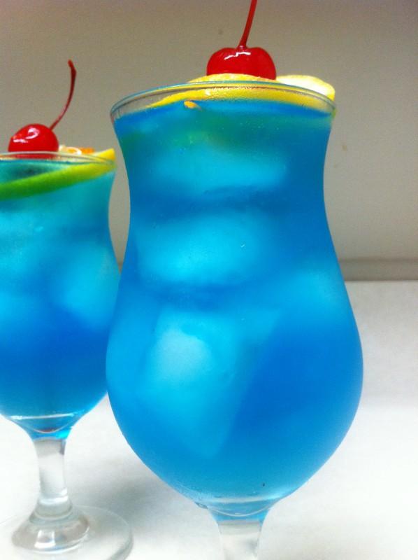 Blue Long Island Ice Tea Cocktail Recipes