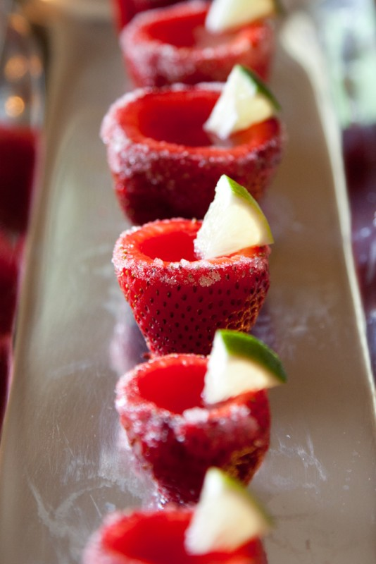 Strawberry Margarita Jello Shots | Cocktail Recipes
