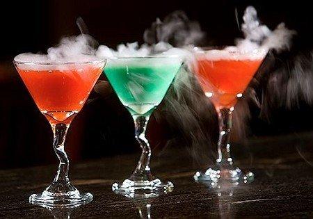 Smoking Martini Cocktail Recipes