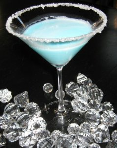 Silent Night Martini