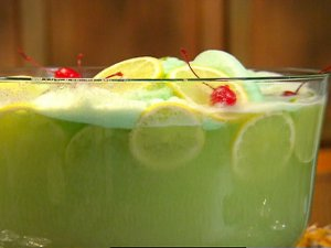 Classic Lime Punch with Vodka