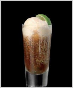 Rum 'N' Coke Float