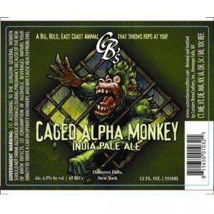Caged Alpha Monkey