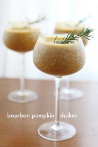 Bourbon Pumpkin Shake