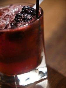 Berry Whiskey Smash