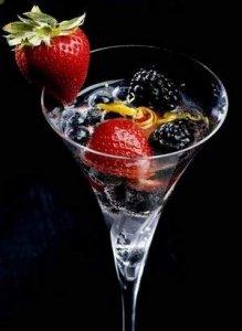Berries in Orange-kissed Moscato