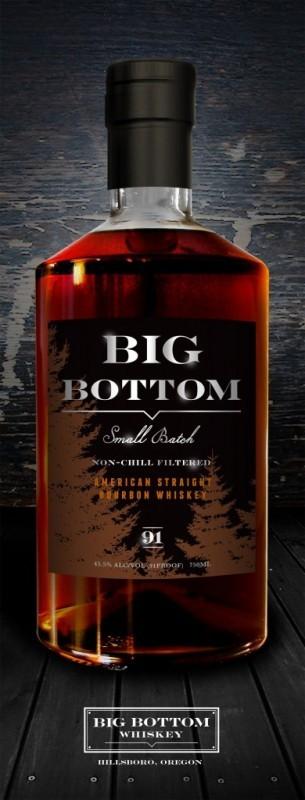 Big Bottom - American Straight Bourbon Whiskey