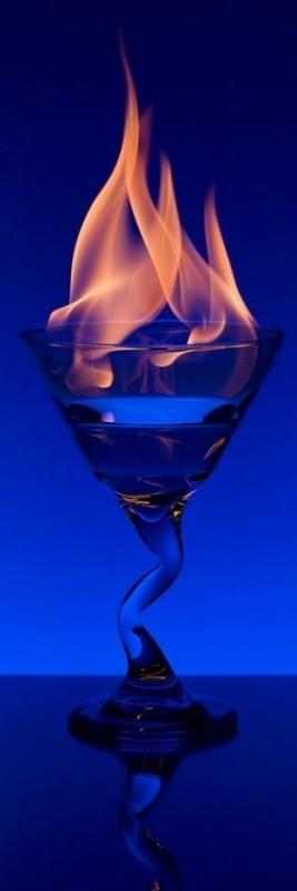 Flaming Blue