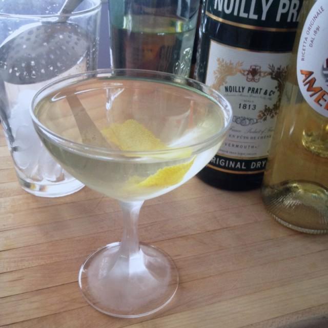 House Vesper Martini