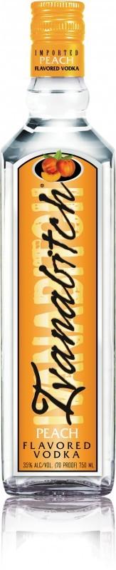 Ivanabitch Peach Flavored Vodka