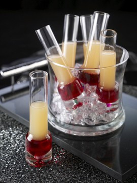 Watermelon and Grapefruit Shooters