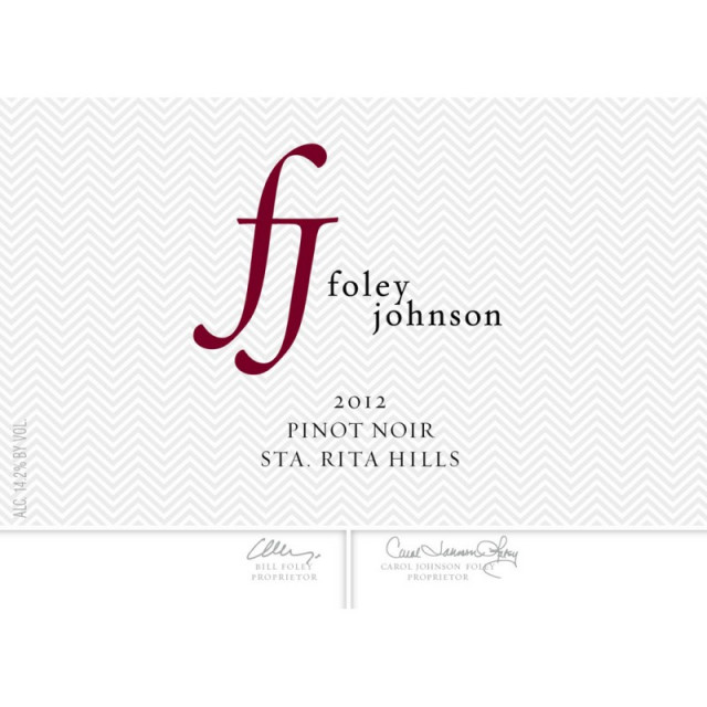 Foley Estate Winery Santa Rita Hills Pinot Noir