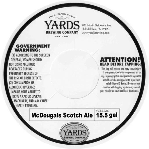 McDougals Scotch Ale