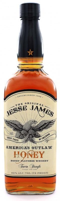 Jesse James Honey Flavored Whiskey