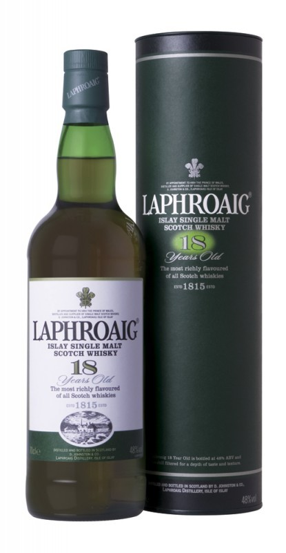 Laphroaig Single Malt Whisky - 18 Year Old