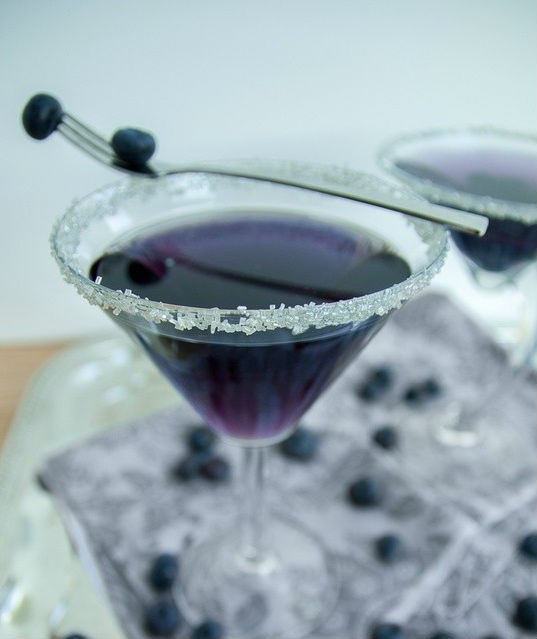Blueberry Bliss Cocktail
